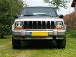 Grill 96-01 compleet chrome XJ/nieuw