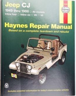 Boek Werkplaats CJ 1949-1986 Haynes/nieuw