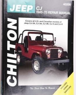 Boek Werkplaats CJ 1945-1970 Chilton/nieuw