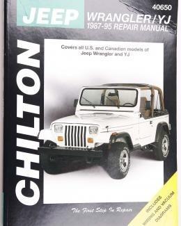 Boek Werkplaats YJ 1971-1986 Chilton/nieuw