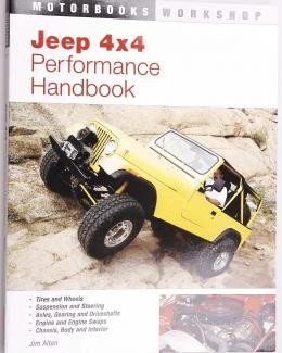 Boek Jeep 4x4 Performance/nieuw