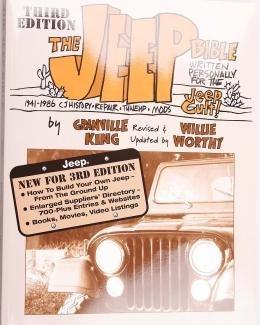 Boek The Jeep Bible/nieuw