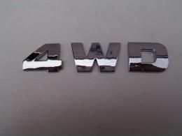 Embleem 4WD/nieuw