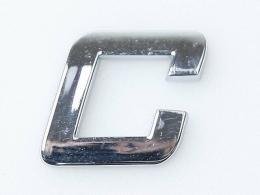 Embleem Letter C/nieuw