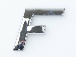 Embleem Letter F/nieuw