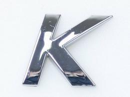 Embleem Letter K/nieuw
