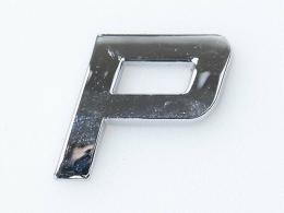 Embleem Letter P/nieuw
