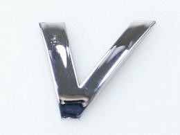 Embleem Letter V/nieuw