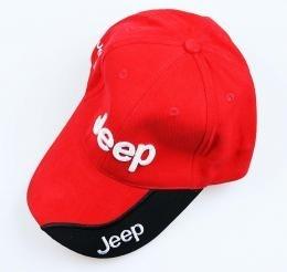 Cap-2 (Jeep Rood/Zwart)/nieuw