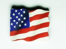 Magneet USA-vlag/nieuw