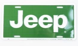 Kentekenplaat Jeep-1/nieuw