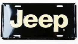 Kentekenplaat Jeep-3/nieuw