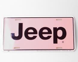 Kentekenplaat Jeep-6/nieuw