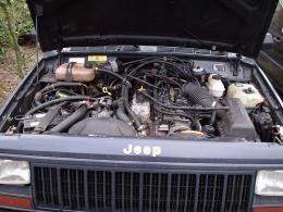 Motor kaal 4.0 85-92 XJ/gebruikt