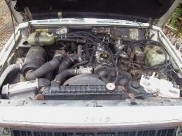 Motor kaal 2.1TD 85-92 XJ/gebruikt
