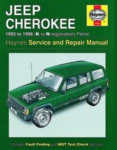 Boek Werkplaats XJ 1993-1996 Petrol Haynes/nieuw