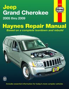 Boek Werkplaats WJ 2005-2009 Haynes/nieuw