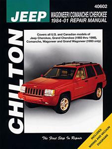 Boek Werkplaats SJ 1984-2001 Chilton/nieuw