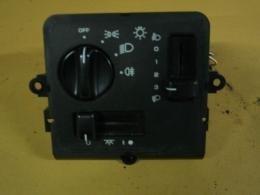 Lichtschakelaar 1993-1995 +binnen+koplampverstel ZJ/gebruikt