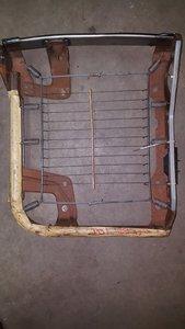 Stoel zitvlak frame Rechts model 97 XJ/gebruikt